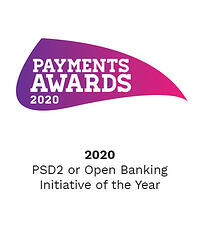 Payments Awards 2020 - PSD2 or Open Banking Initiative of the Year