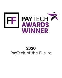 PAYTECH Awards Winner 2020 - PayTech of the Future