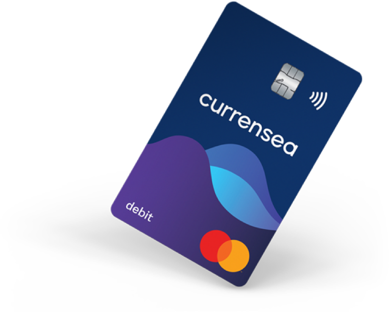 Great exchange rates and no charges when you travel with your Currensea card